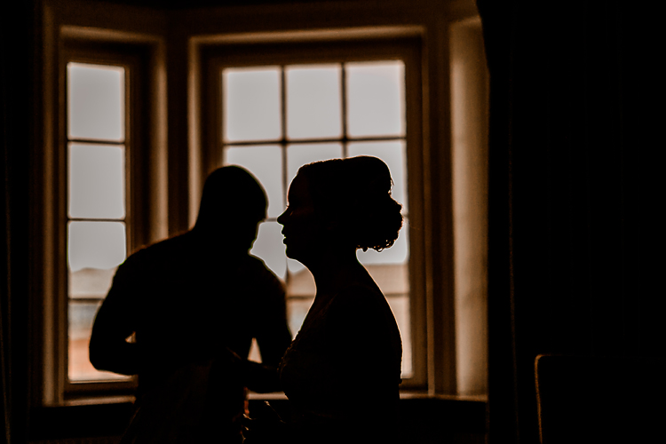 Wedding Day Photos Silhouette