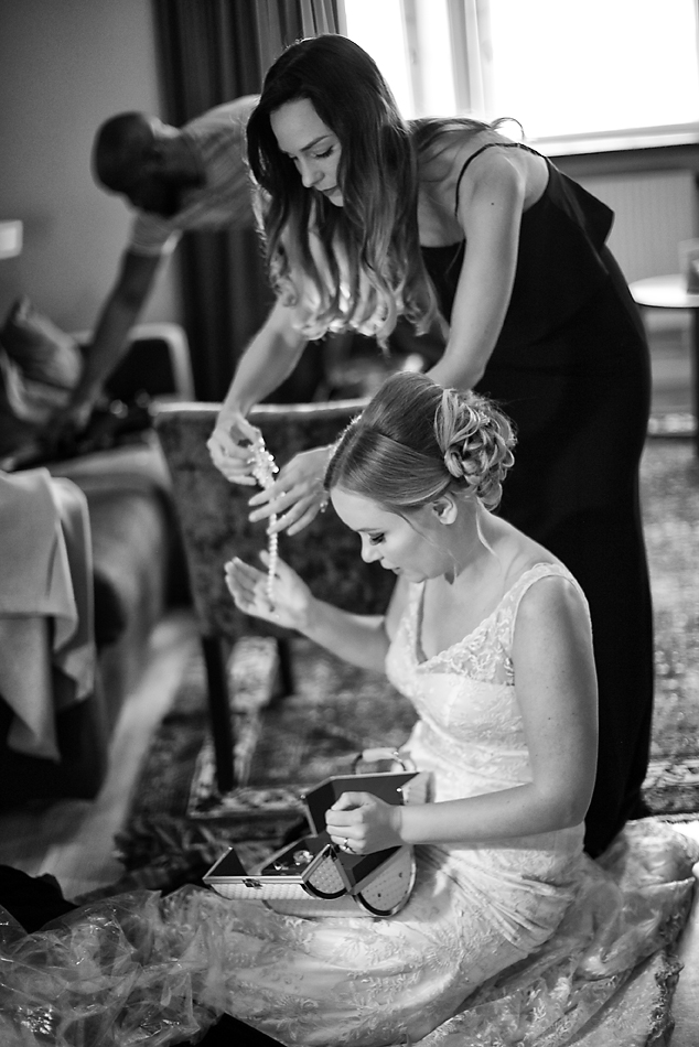 Wedding Getting Ready Photography Europe